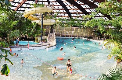 Vakantieparken met subtropisch zwembad, Aqua Mundo de Huttenheugte
