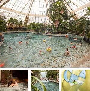 Subtropisch zwembad De Eemhof collage