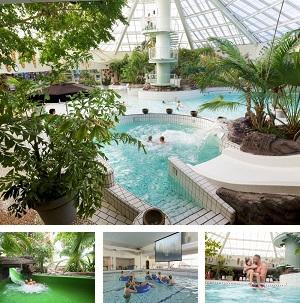 Subtropisch zwembad Park Zandvoort collage