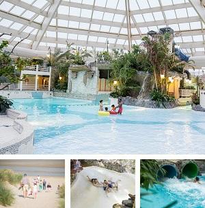Subtropisch zwembad De Haan collage