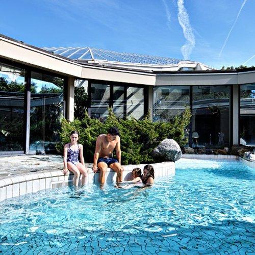 Subtropisch zwembad Les Hauts de Bruyères
